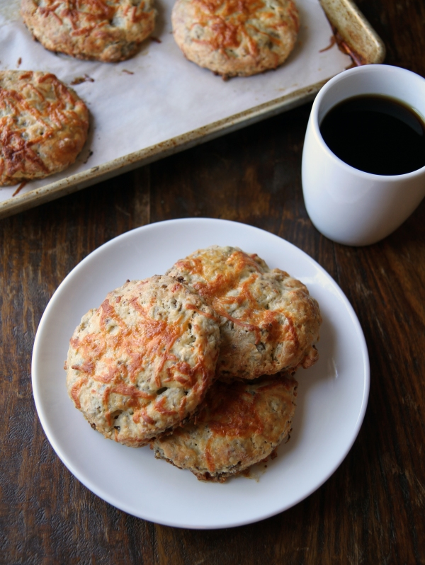 cheddar and sausage scones