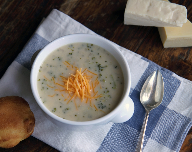 broccoli and four cheese soup